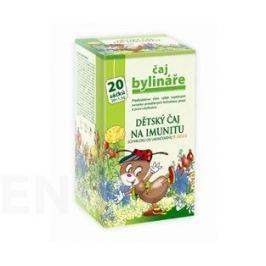 Čaj Bylináře Dětský čaj na imunitu 20x1.5g Dětské čaje