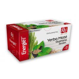 Energie tea Yerba maté+Guaraná+Ženšen 20x1.5g Bylinné čaje