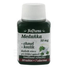 MedPharma Meduňka+chmel+kozlík tbl.37