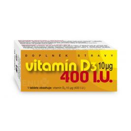 Vitamín D3 400 I.U. tbl.90 Kosti