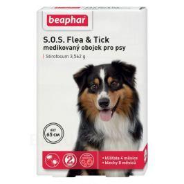 SOS Flea and Tick 3.562g obojek pro psy 65cm Antiparazitika pro psy