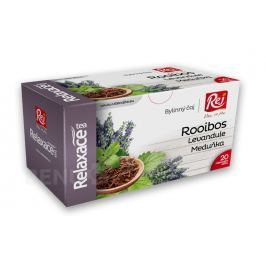 Relaxace tea Roiboos+Meduňka+Levandule 20x1.5g Bylinné čaje