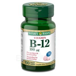 Natures Bounty Vitamin B12 tbl.100x100mcg