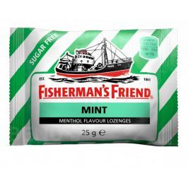 Fishermans friend bonbóny dia mátové 25g zelené Kašel
