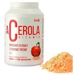 Acerola vitamin standardizovaný prášek 100g Vitamíny na posílení imunity