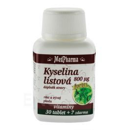 MedPharma Kyselina listová 800mcg tbl.37 Výživa a vitamíny pro těhotné