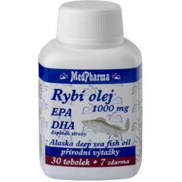 MedPharma Rybí olej 1000mg+EPA+DHA tob.37 Krevní oběh a žíly