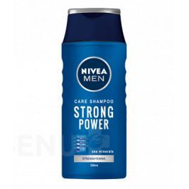 NIVEA Šampon muži STRONG POWER 250ml č.81423 Péče o vlasy