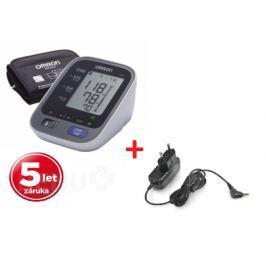 Tonometr OMRON M6 AC +zdroj +5 let záruka(CELIMED) Měřiče krevního tlaku
