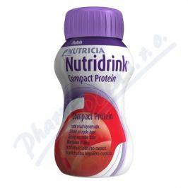 NUTRIDRINK COMPACT PROTEIN S PŘÍCHUTÍ LESNÍHO OVOCE POR SOL 4X125ML Speciální výživa