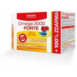 Cemio Omega 3000 Forte s citrusem tbl.60+60 Krevní oběh a žíly