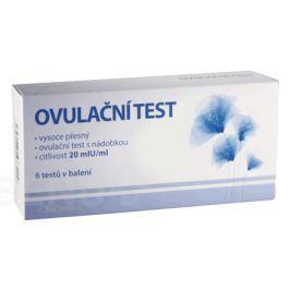 MedPharma Ovulační test 20mlU/ml 6ks Ovulační testy pro ženy