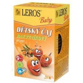 LEROS BABY Dětský čaj Rakytníkový n.s.20x2g Dětské čaje