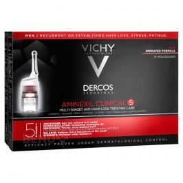 VICHY DERCOS Aminexil Clinical 5 pro muže 21*6 ml