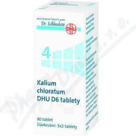 KALIUM CHLORATUM DHU D5-D30 TBL NOB 80
