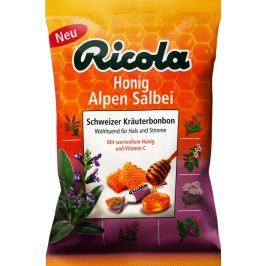 RICOLA Honig alpen salbei medovo-šalvějové 75g