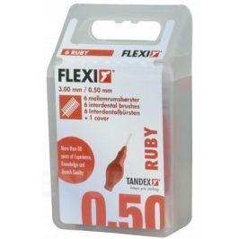 TANDEX mezi.kart. Flexi 0.5 mm červ. 6 ks TA819073