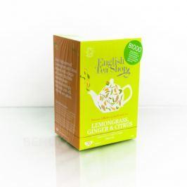 English Tea Shop Bio Citr.Tráva Zázvor Citrus 20s.
