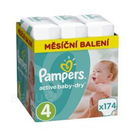 Pampers Active Baby Pleny 4 Maxi 8-14kg 174 ks