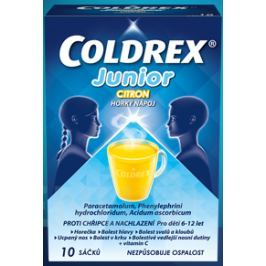 COLDREX JUNIOR CITRON 300MG/5MG/20MG POR PLV SOL SCC 10