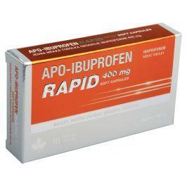 APO-IBUPROFEN RAPID 400 MG SOFT CAPSULES 400MG CPS MOL 10 I