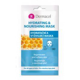Dermacol Hydratační a vyživující textilní maska