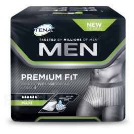 KALHOTKY ABSORPČNÍ TENA MEN PROTECTIVE UNDERWEAR LEVEL 4 LARGE BOKY 95-125CM,1430ML,10KS