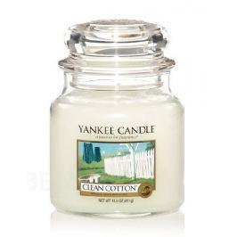 YANKEE CANDLE vonná svíce Clean cotton 411g