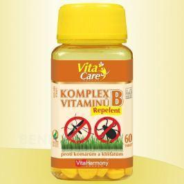 VitaHarmony Komplex vitaminů B Repelent tbl.60 Ostatní vitamíny