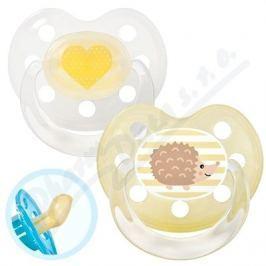 BABY NOVA Dudlík latex tvar.+kroužek č.1 28120