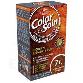 Barva Color&Soin 7C - zemitě měděná blond 135ml