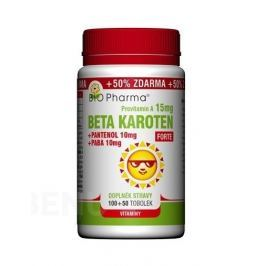 Beta Karot.15mg+Panten.10mg+PABA10mg tob.100+50