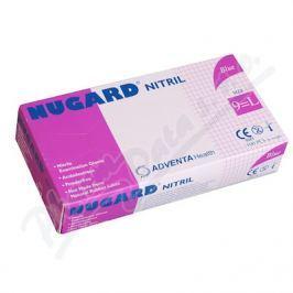 Rukavice vyš.NUGARD/Nitril b.p. modrá 100ks L