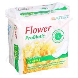 Dámské vložky FLOWER ProBiotic 9ks