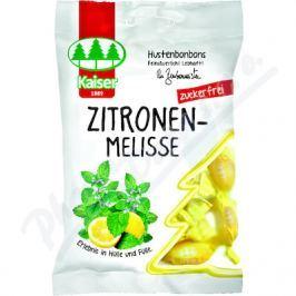 Kaiser Bylinné bonbóny s Meduňkou bez cukru 75g
