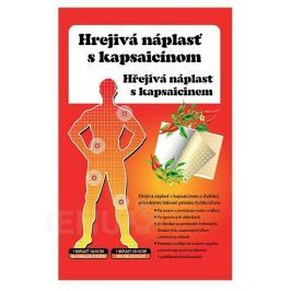Náplast hřejivá s kapsaicinem (12x18cm) 1ks
