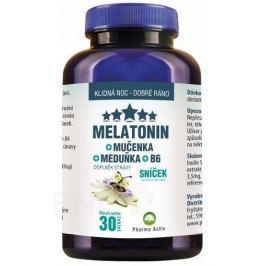 Melatonin Mučenka Meduňka B6 30 tablet / Sníček