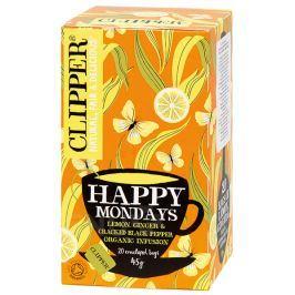 Clipper BIO bylinný čaj Citr.Zázvor Pepř 20x2.25g