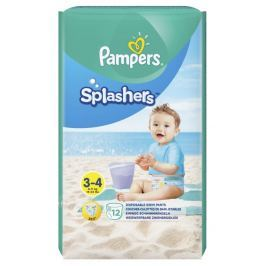 Pampers Splashers kalh. plenky do vody S3-S4 12ks